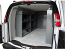 Van Shelving Storage