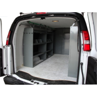 Full Size Van Shelving GMC, Chevy, Ford