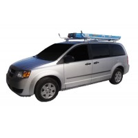 Aluminum Minivan Ladder Rack - Single Lock Down
