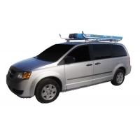 Aluminum Minivan Ladder Rack - Single Lock Down
