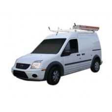 2010-2013 Aluminum Ladder Rack - Ford Transit Connect - Single Lock Down