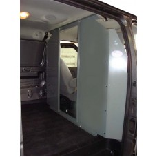 Chevy Express Van Safety Partition, Bulkhead - open in the center