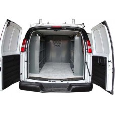 Van Shelving Package PRO - Full Size Van - 2+1 unit with Door Kit