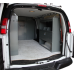 "Van Modular Shelving Storage Unit with Door Kit - 45''L X 44""H X 13""D"